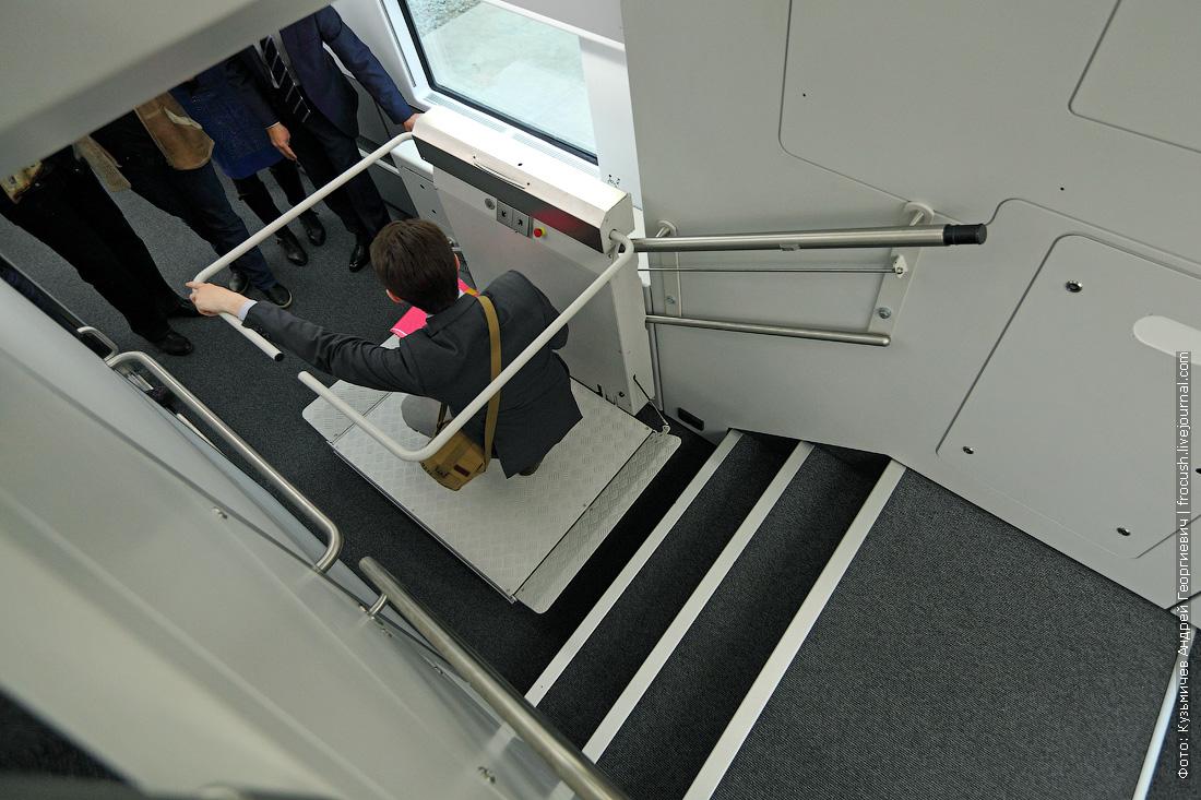 двухэтажный аэроэкспресс фотографии лифта для инвалидов