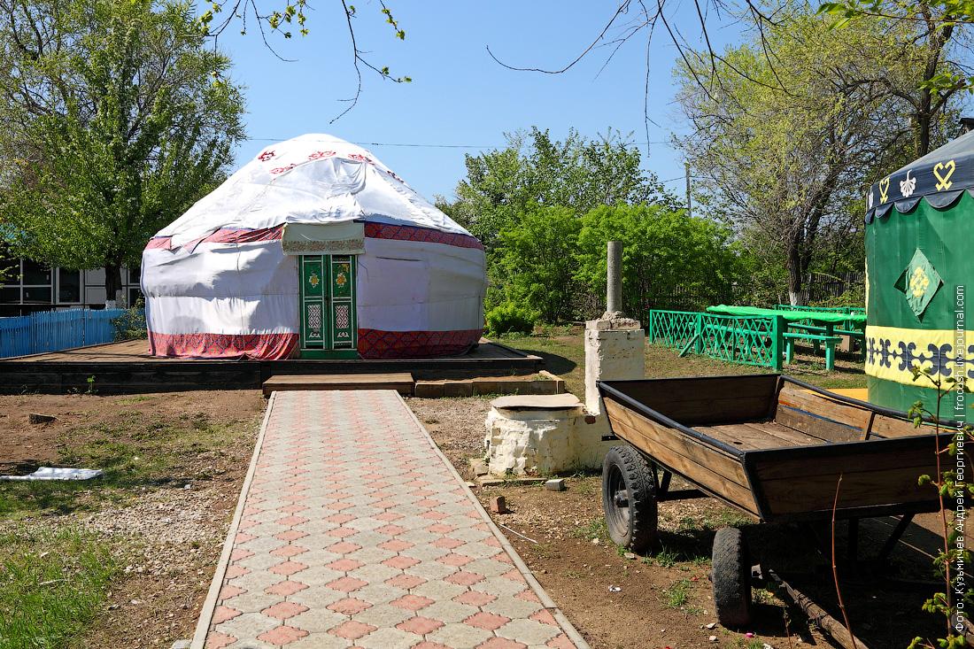 Соколова гора Казахская юрта национальная деревня народов Саратовской области
