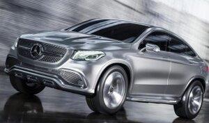 Mercedes-Benz представил фотографии конкурента BMW X6