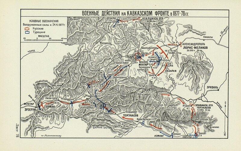 Военные действия на Кавказском фронте в 1877-1878 годах