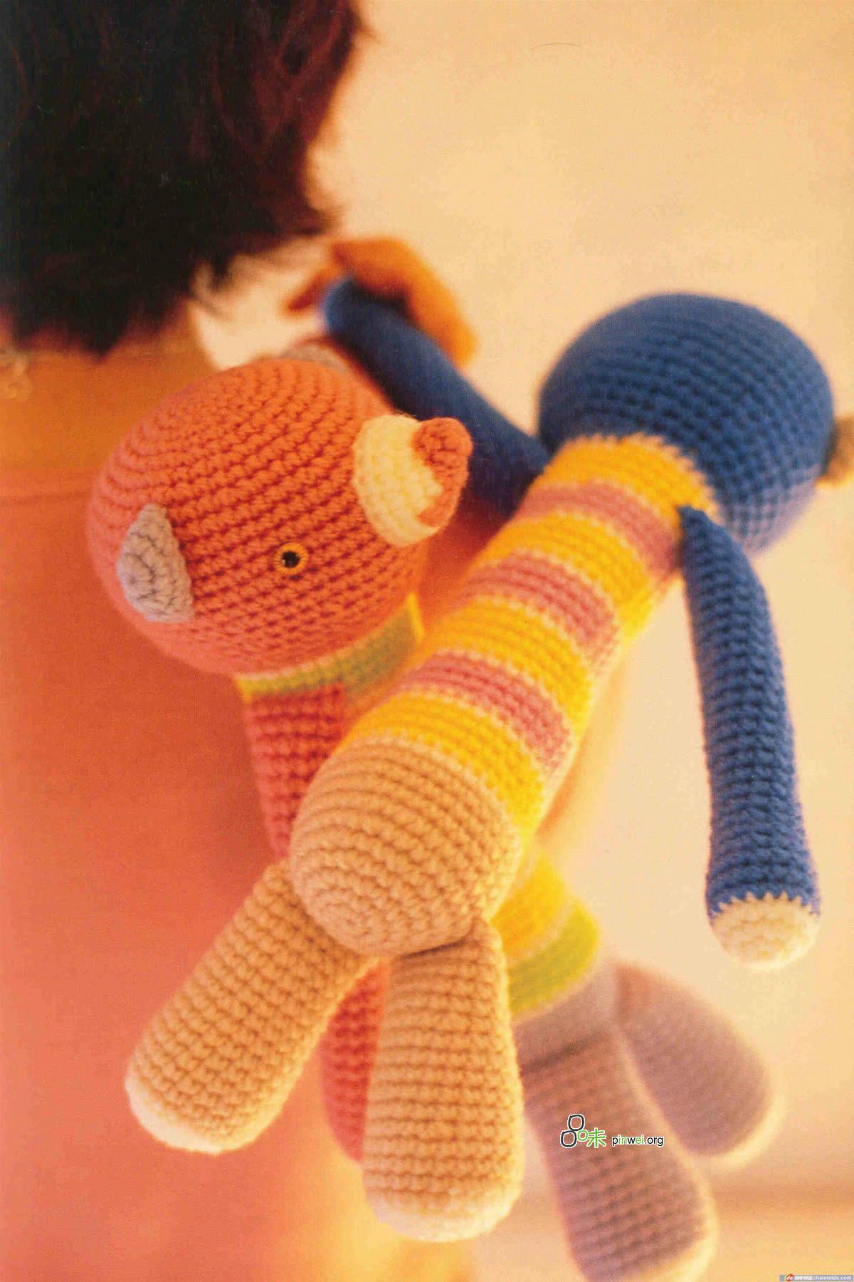 Японский журнал. Игрушки амигуруми крючком