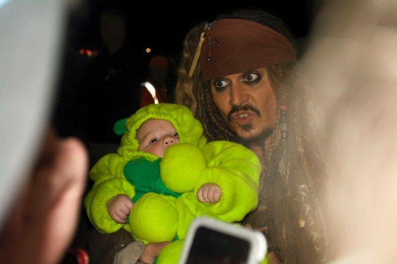 Капитан Джек, встреча с поклонниками. 23 июня, 2015 год. Хэйстингс Пойнт, Австралия.