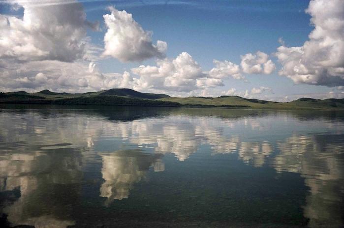Иткуль - одно из самых чистых озер (19.12.2014)
