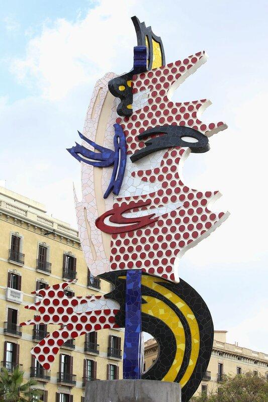 Монумент 'Голова Барселоны' (La Cara de Barcelona)