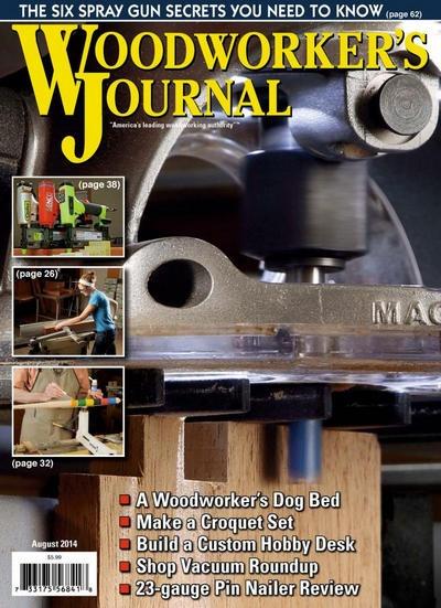 Книга Журнал: Woodworker's Journal №4 (август 2014)  [En]