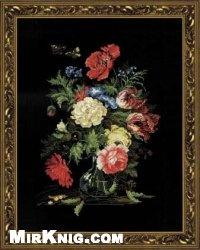 Журнал Схемы вышивки крестиком-Цветы-сборник