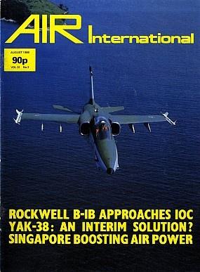 Журнал Air International - Vol 31 No 2