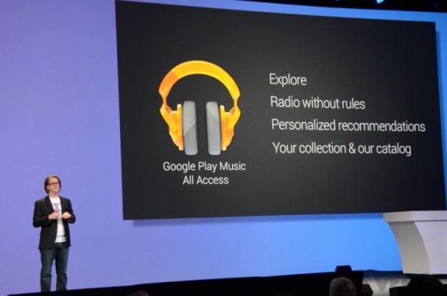 Google Play Музыка для Android