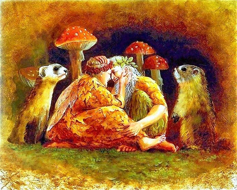 Художница Линн Лупетти. Мир сказки... (16).jpg