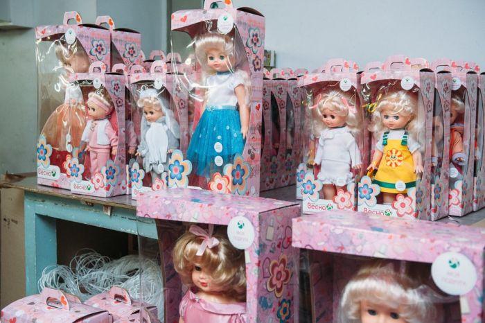 Фотоотчет с посещения фабрики детских игрушек