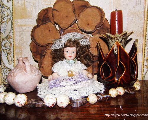 Композиция с куклой