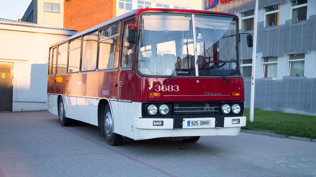 Автобус-памятник Ikarus 255
