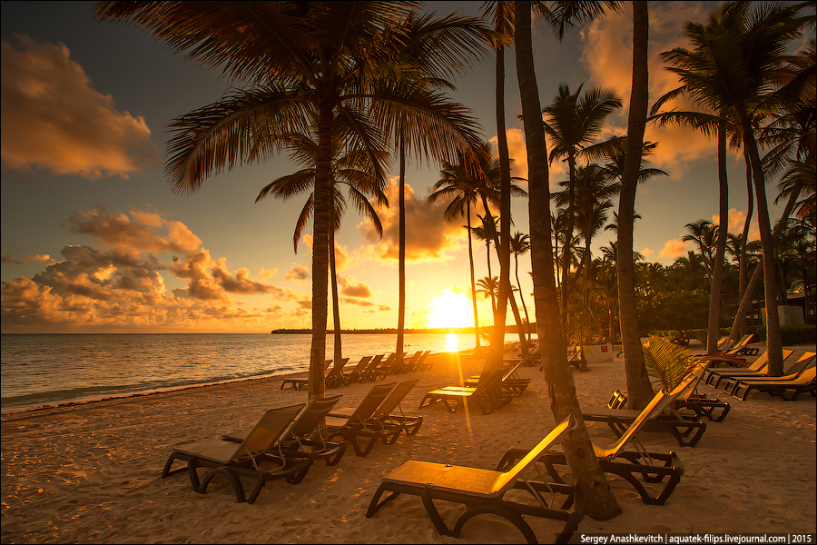 Рассвет в Доминикане