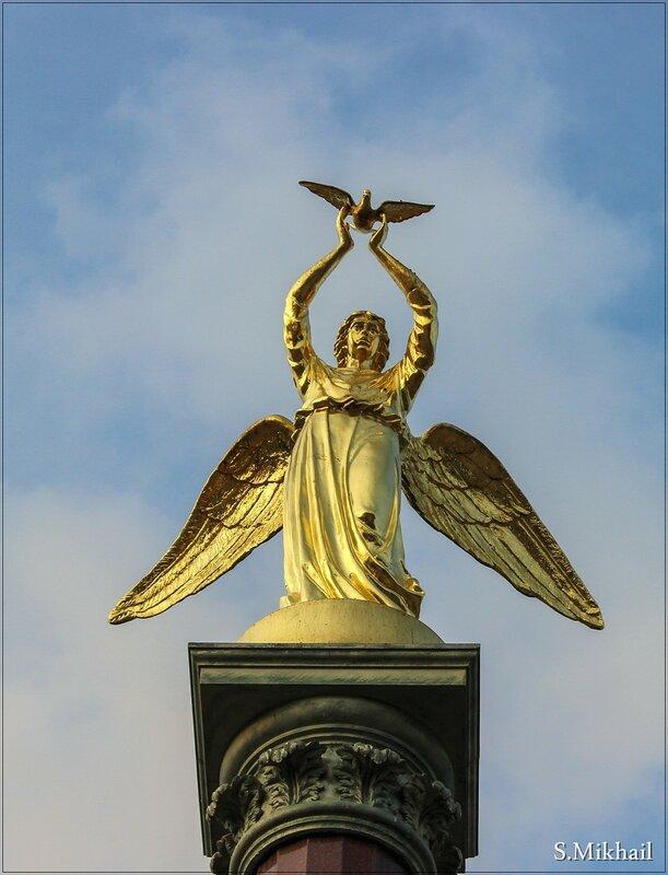 "Архитектурная композиция ""Добрый ангел мира"""