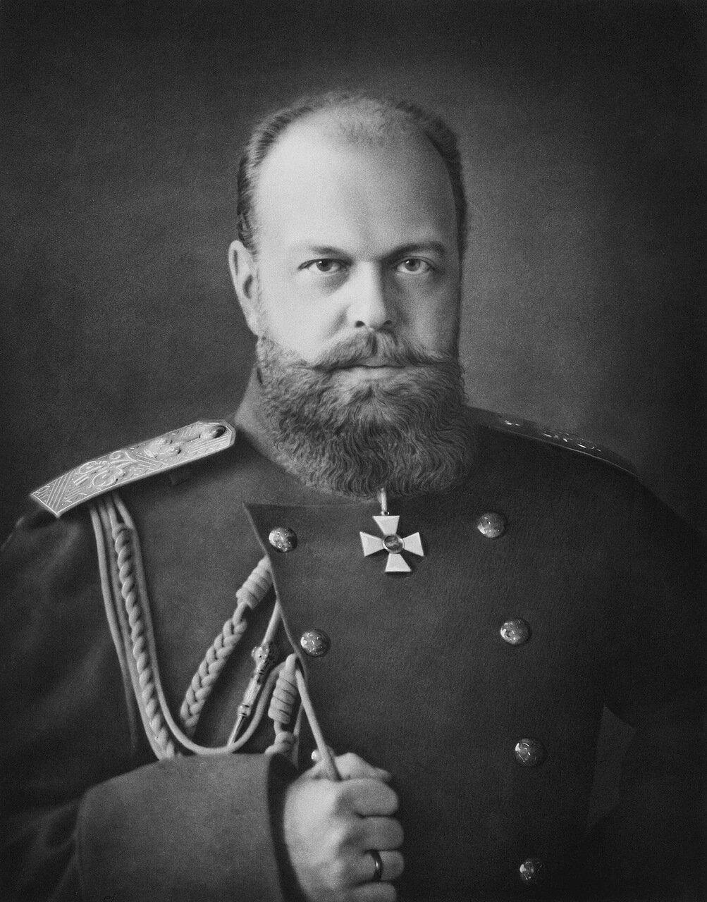 Портрет императора Александра III