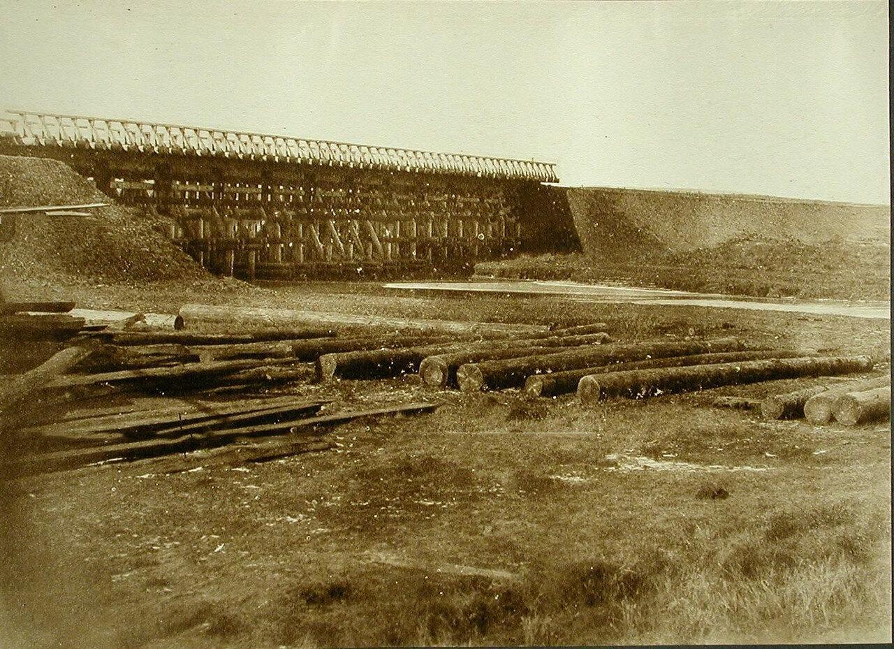 31. Вид моста через реку Бутунда. Амурская обл. 1910-1914