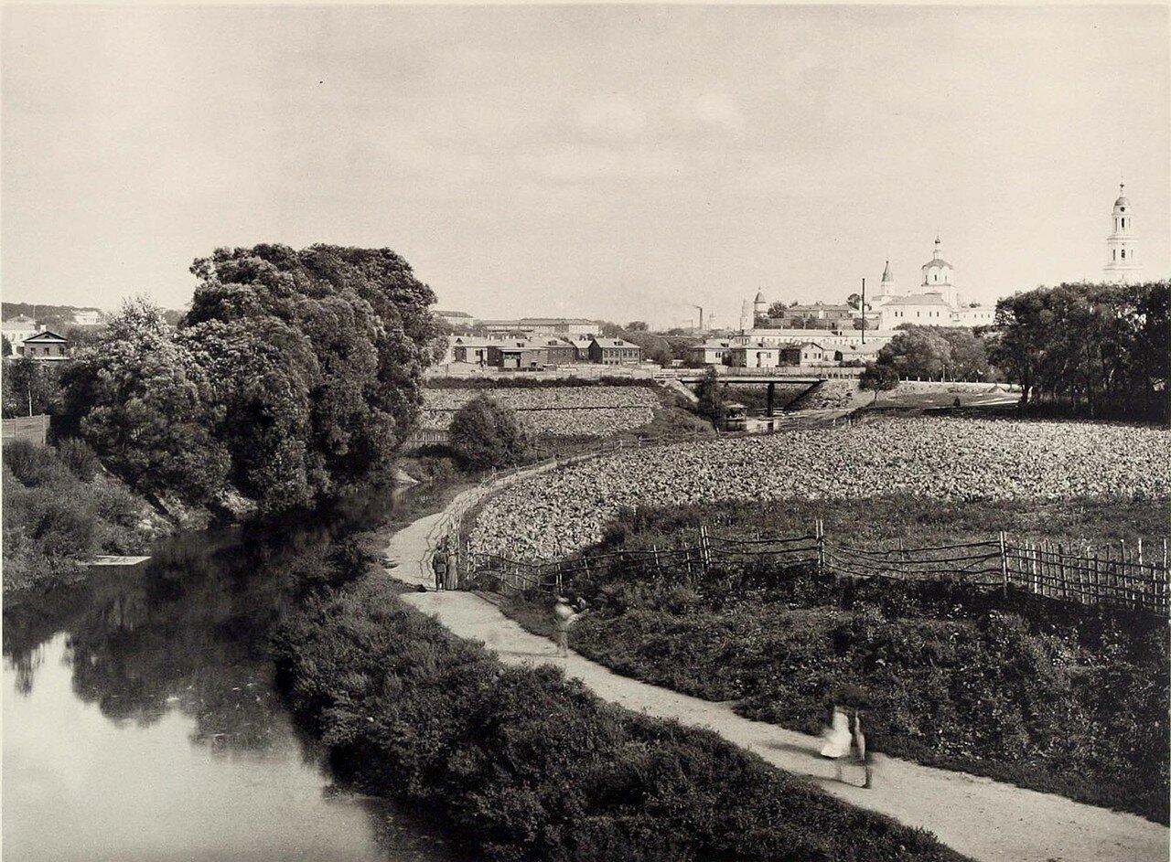 352. Вид с Высокояузского моста (вверх по реке)