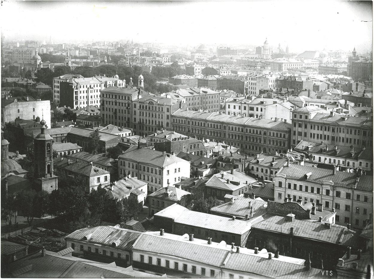 564. Панорама Москвы с Сухаревой башни. 1910-е