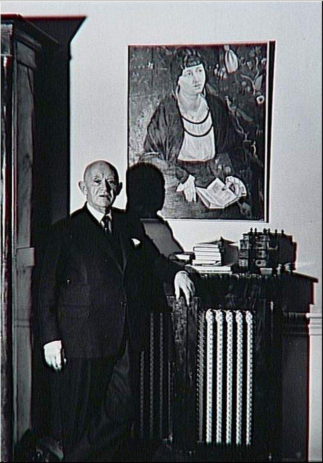 1960. Канвейлер позирует