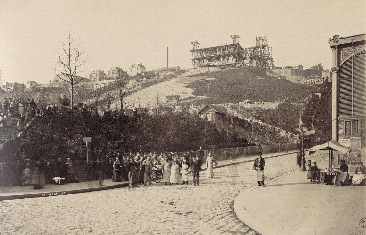 1882. Строительство Базилики Сакре-Кер