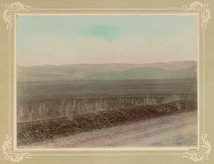 Поле, где происходила атака легкой бригады под командованием лорда Кардигана на позиции русской армии во время балаклавского сражения 25 октября 1854 года