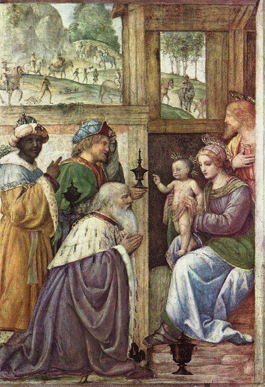 Bernardino Luini. Поклонение волхвов.jpg