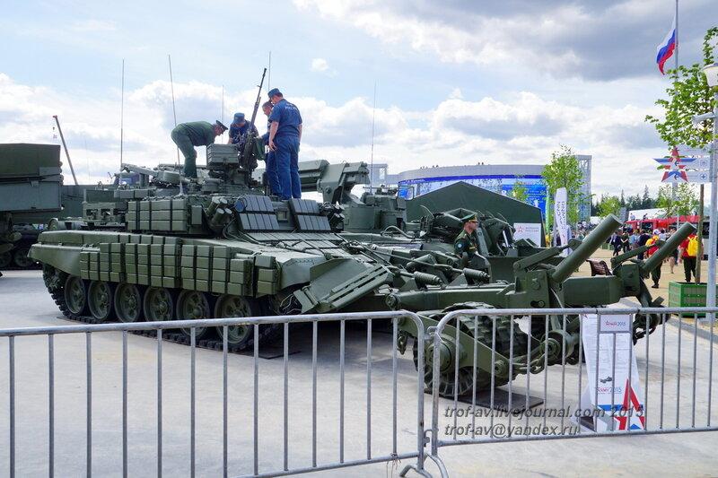 БМР-3МА, Форум Армия-2015, парк Патриот