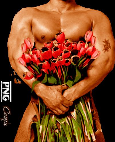 Прикольные картинки с мужиками с цветами, днем