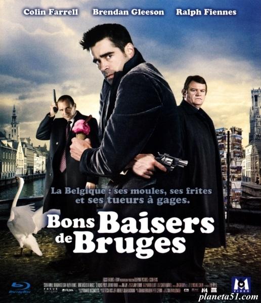 Залечь на дно в Брюгге / In Bruges (2007/BDRip/HDRip)
