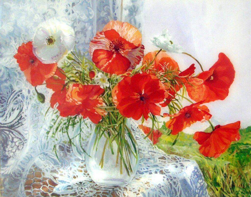 Дарья Чачева. Маки цветут.... где-то.j