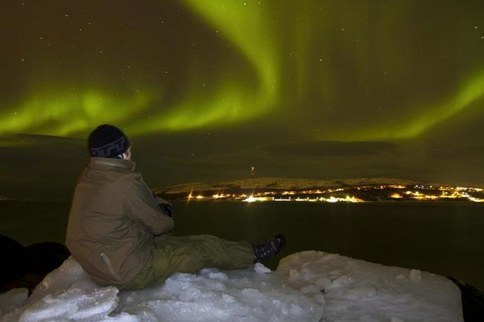 Красивые фотографии полярного сияния 0 10d627 749db046 orig