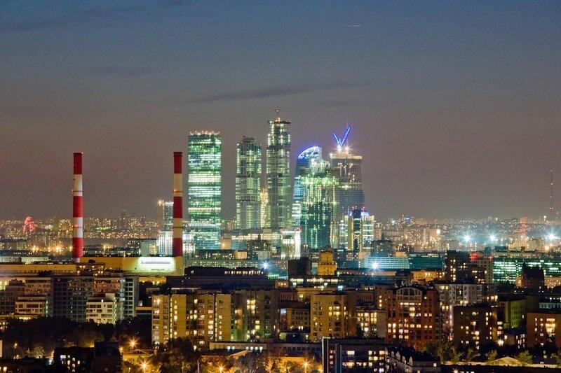 Москва-сити ждёт гостей