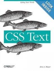 Книга CSS Text