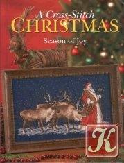 Книга A cross stitch christmas-season of joy