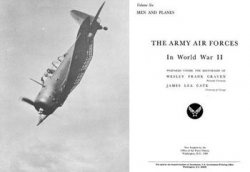 Книга The Army Air Forces in World War II Volume Six
