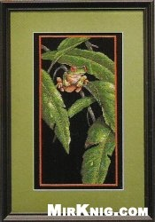 Журнал Dimensions 35251 Tree Frog Among Leaves