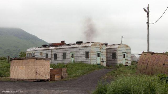 Жизнь в глубокой деревне на Камчатке