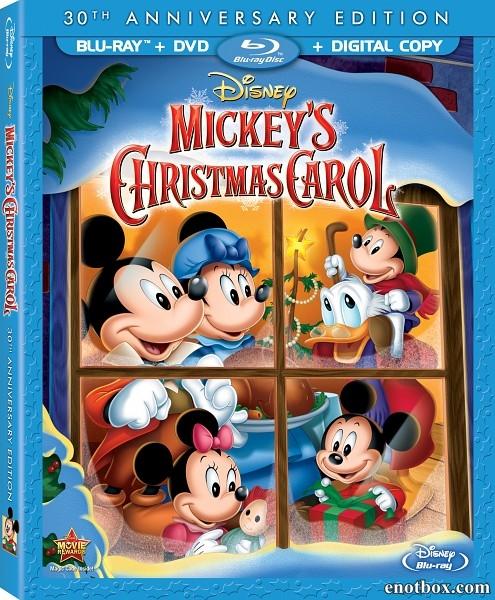 Рождественская история Микки / Mickey's Christmas Carol (1983/BDRip/HDRip)