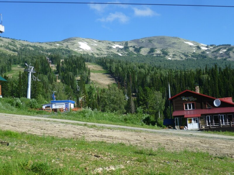 Россия, Шерегеш - гора Мустаг (Russia, Sheregesh - Mountain Muztagh)