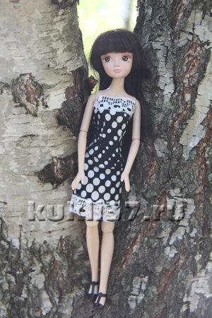 летнее платье для барби