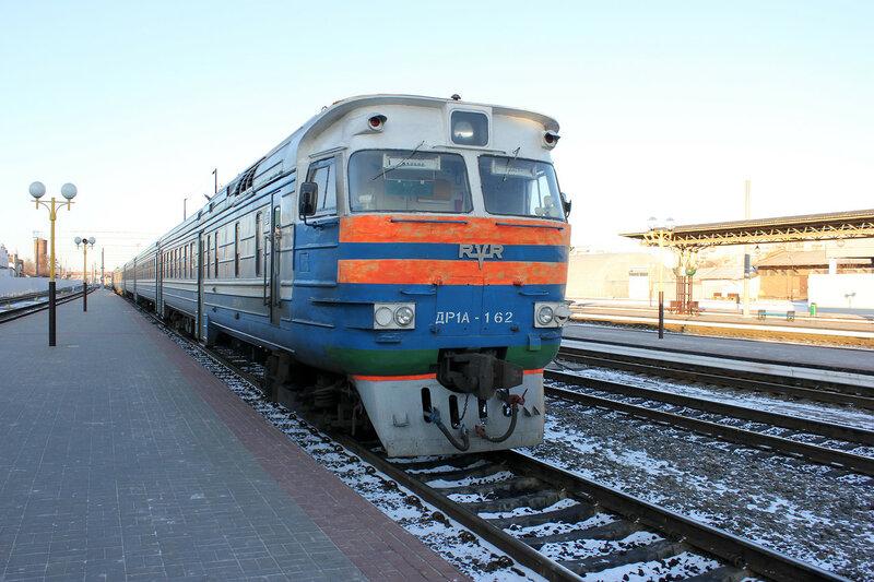 ДР1А-162 на станции Гомель