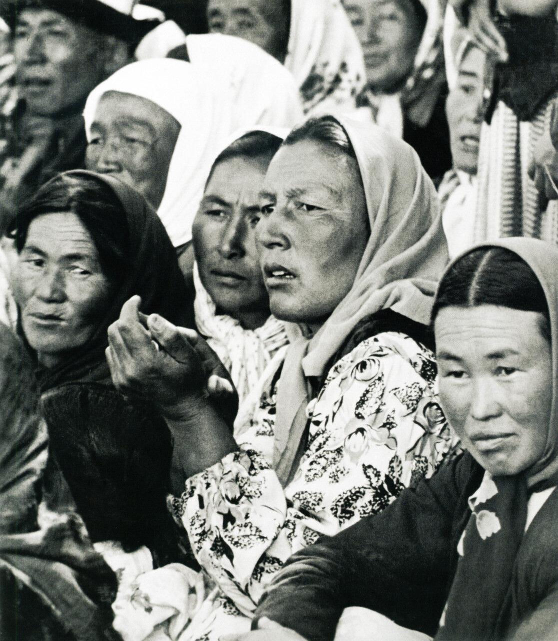 1950. Женщины Киргизии