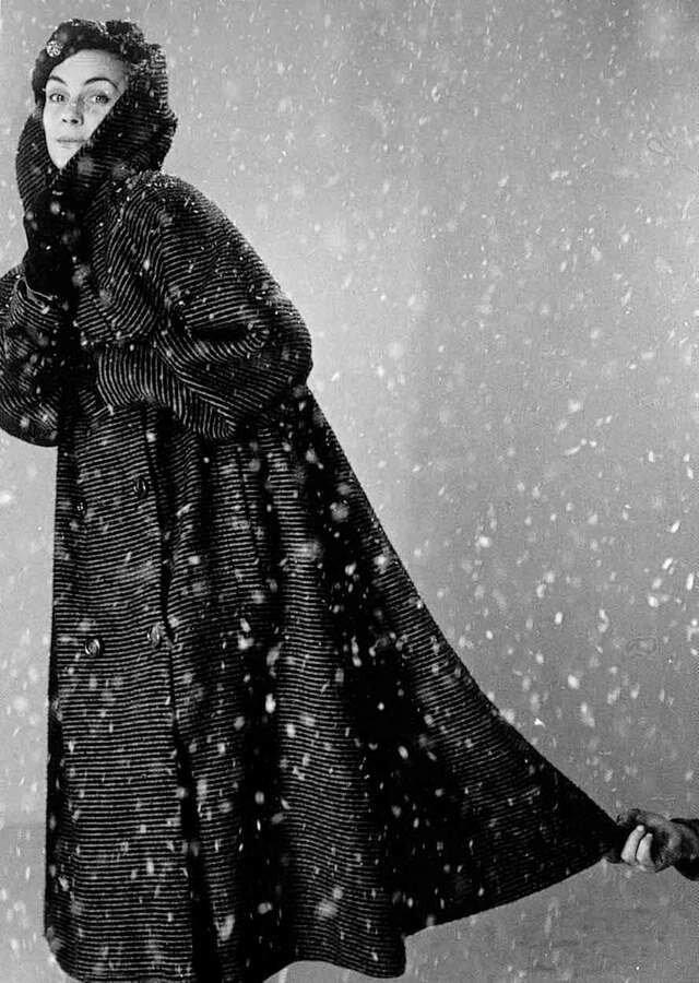1951. Снег в Парижской студии
