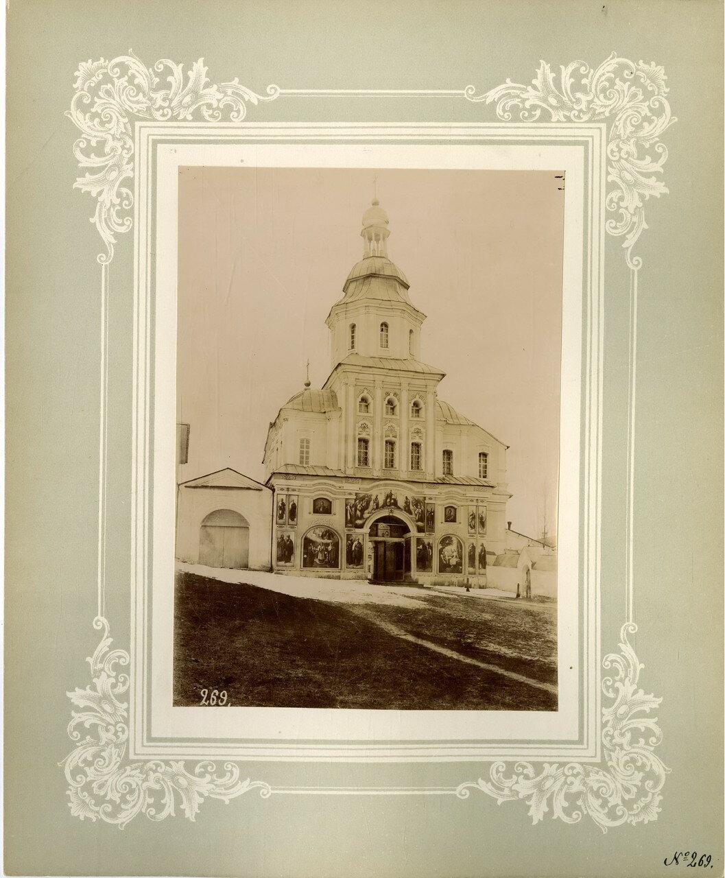 22. Покровская церковь над Святыми вратами