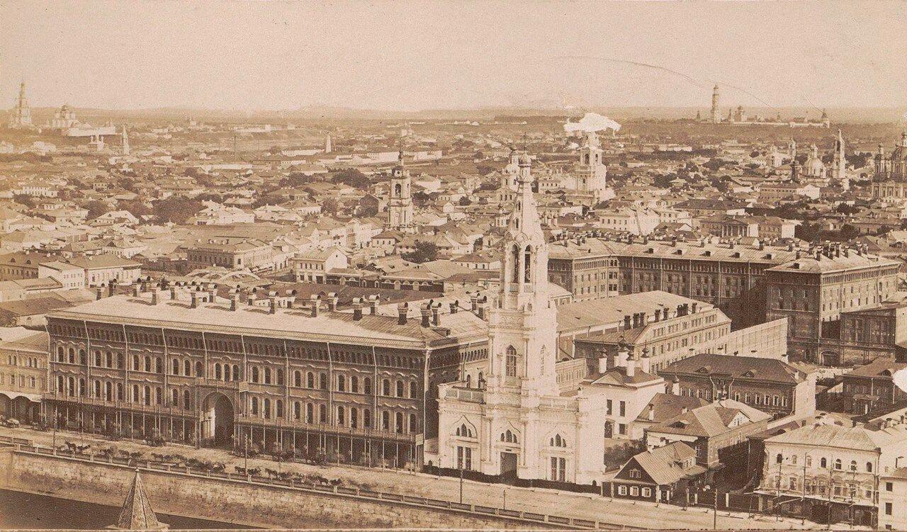 416. Вид московских храмов и зданий,1878