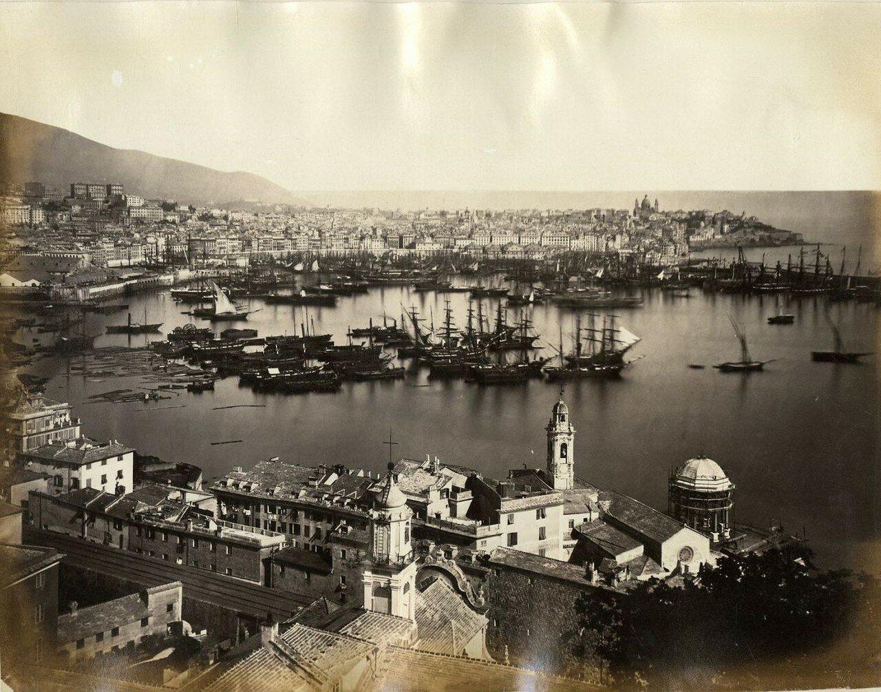 Панорама города и порта