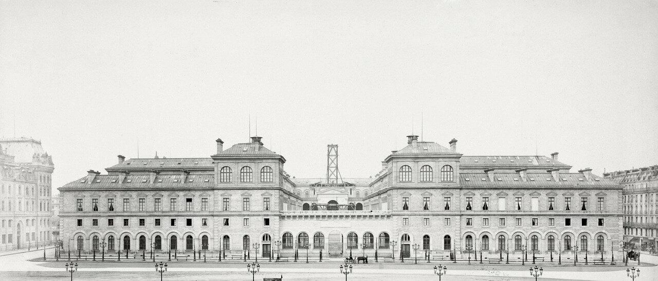 1861–70. Отель-Дьё