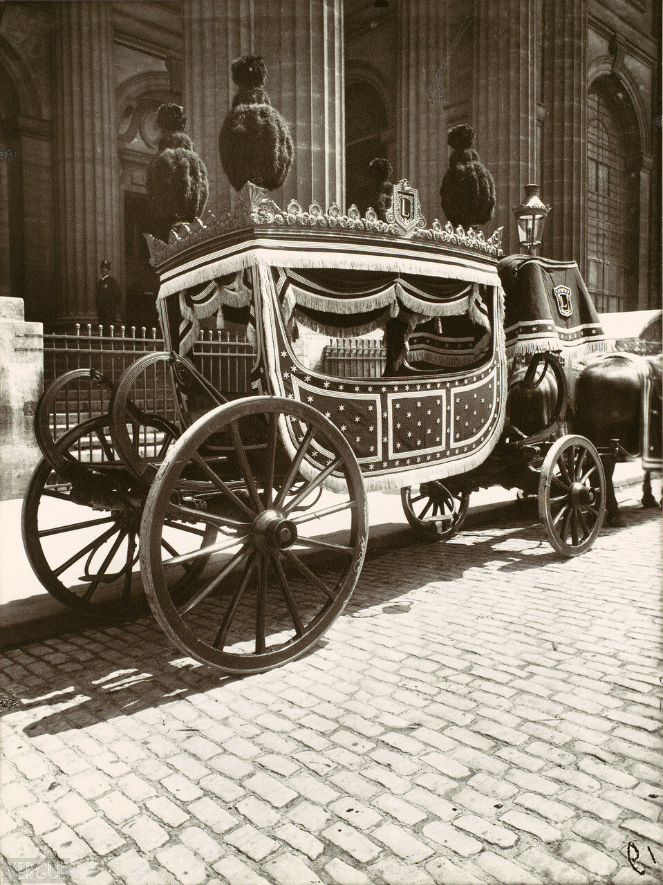 1910. Катафалк 1-го класса