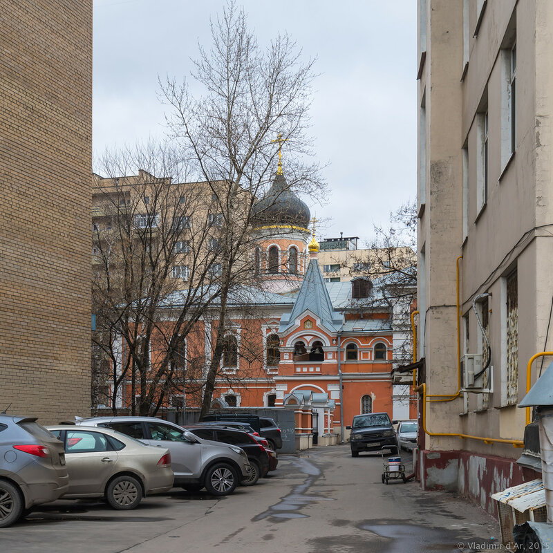 Московское подворье Свято-Троицкой Сергиевой Лавры. 2-й Троицкий переулок, дом 6, строение 9.