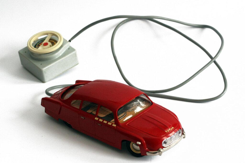 Ites, Tatra 603, c1964. Czechoslovak made remote control toy car.jpg